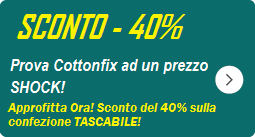 Cottonfix tascabile